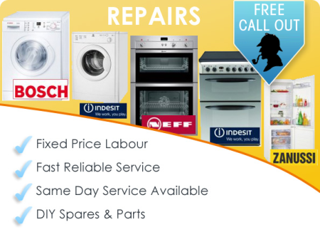 Washing Machine And Kitchen Appliance Repairs, Cheshire